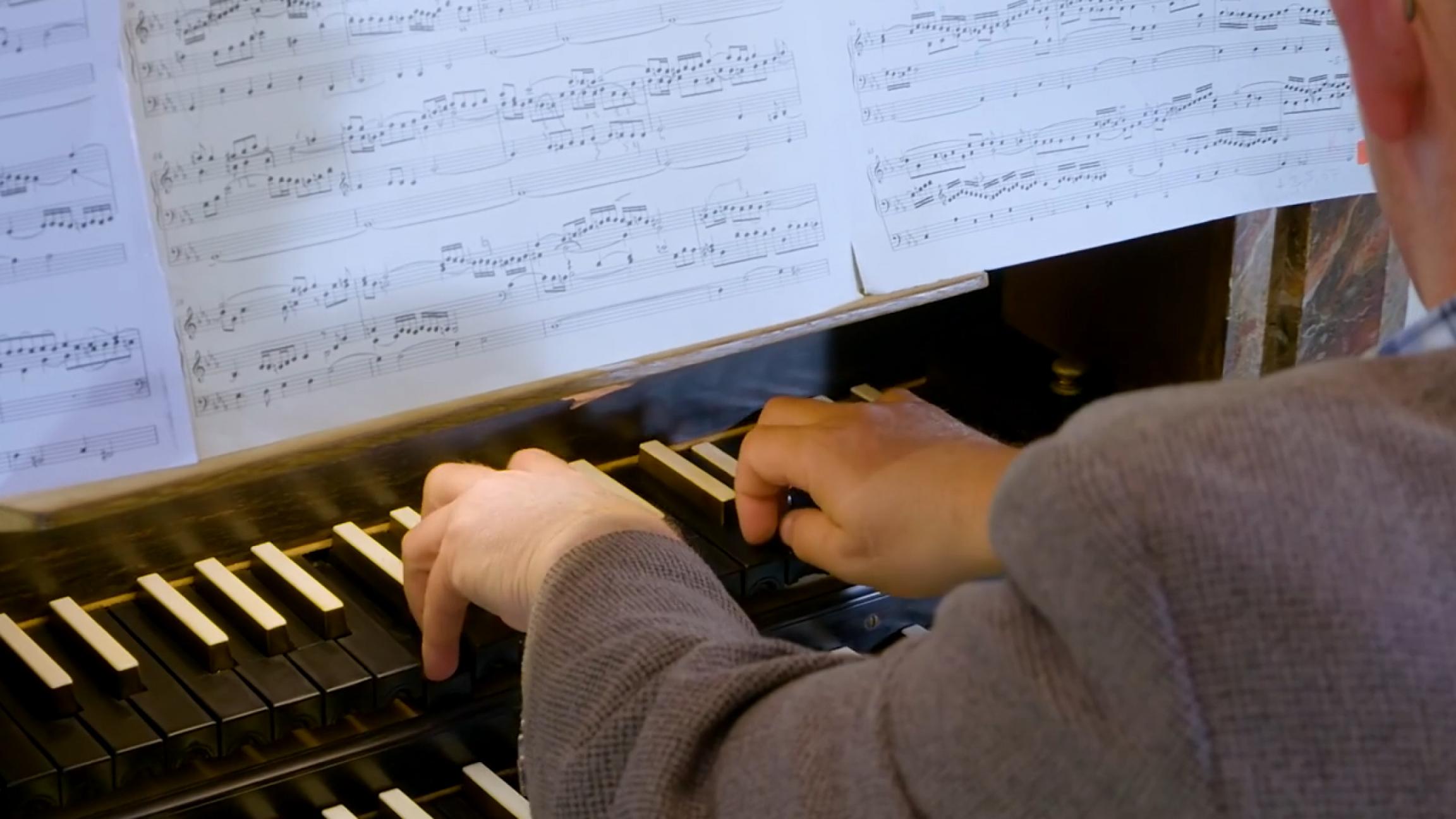 Fantasia and fugue in C minor