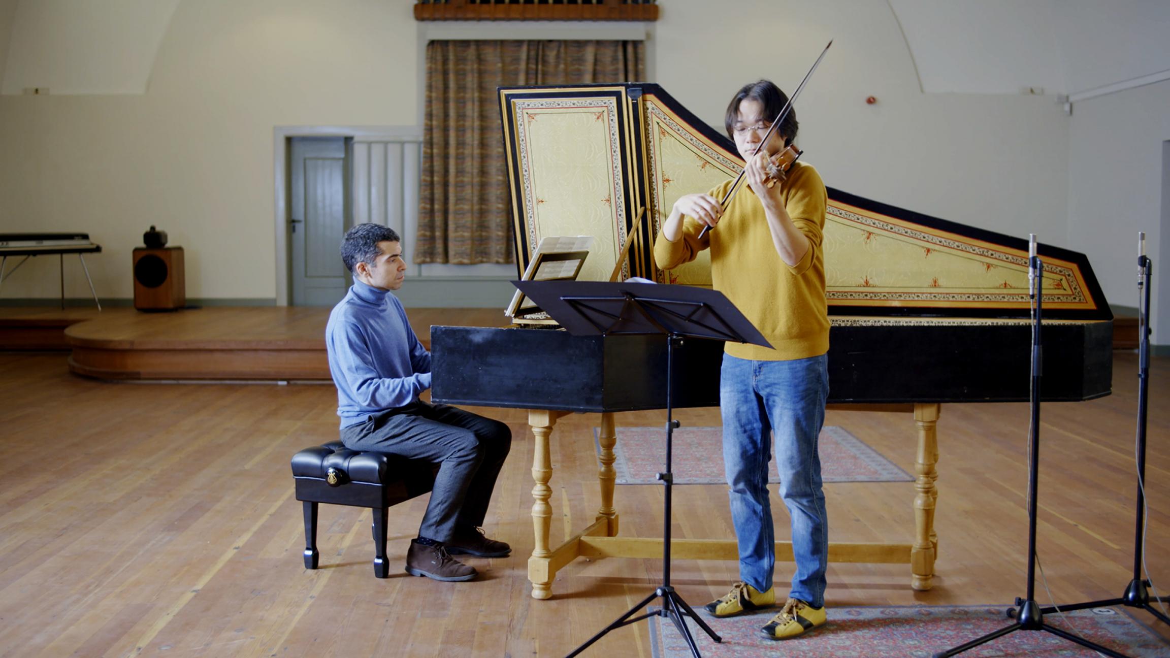 Violin sonata in F major