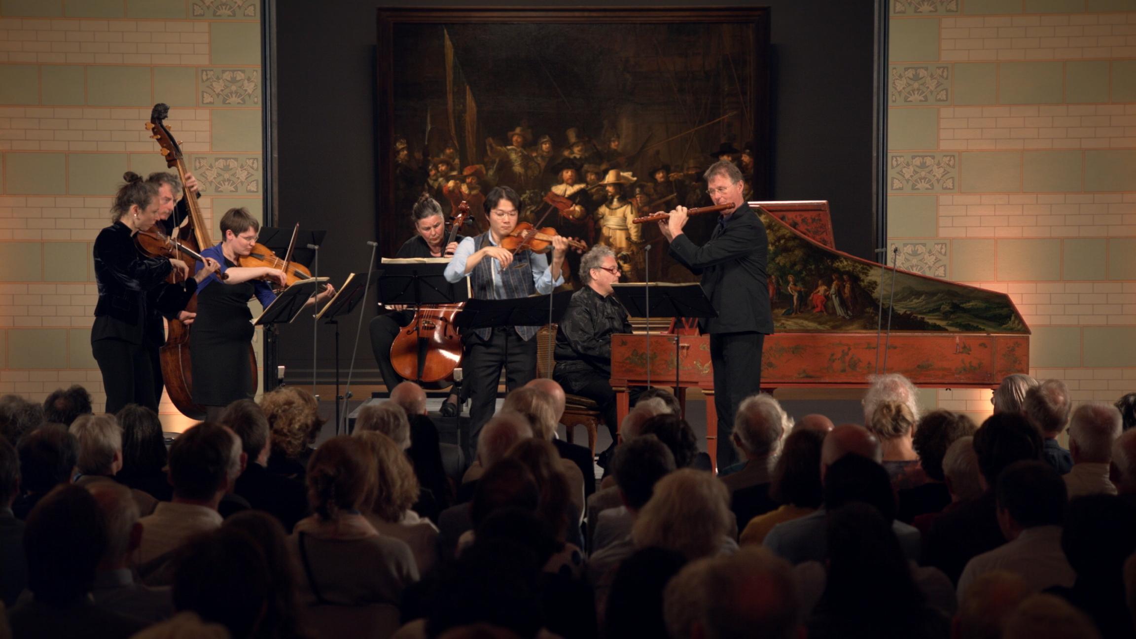 'Brandenburgs' concert nr. 5 in D groot