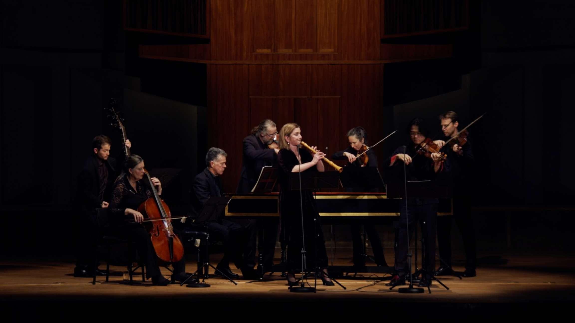 Concerto for oboe and violin in C minor