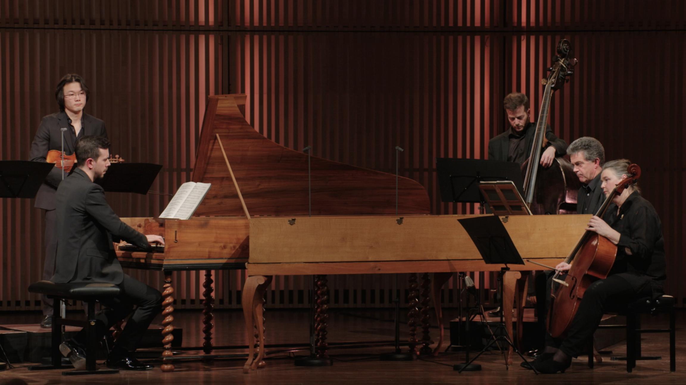 Concert voor twee klavecimbels in C groot