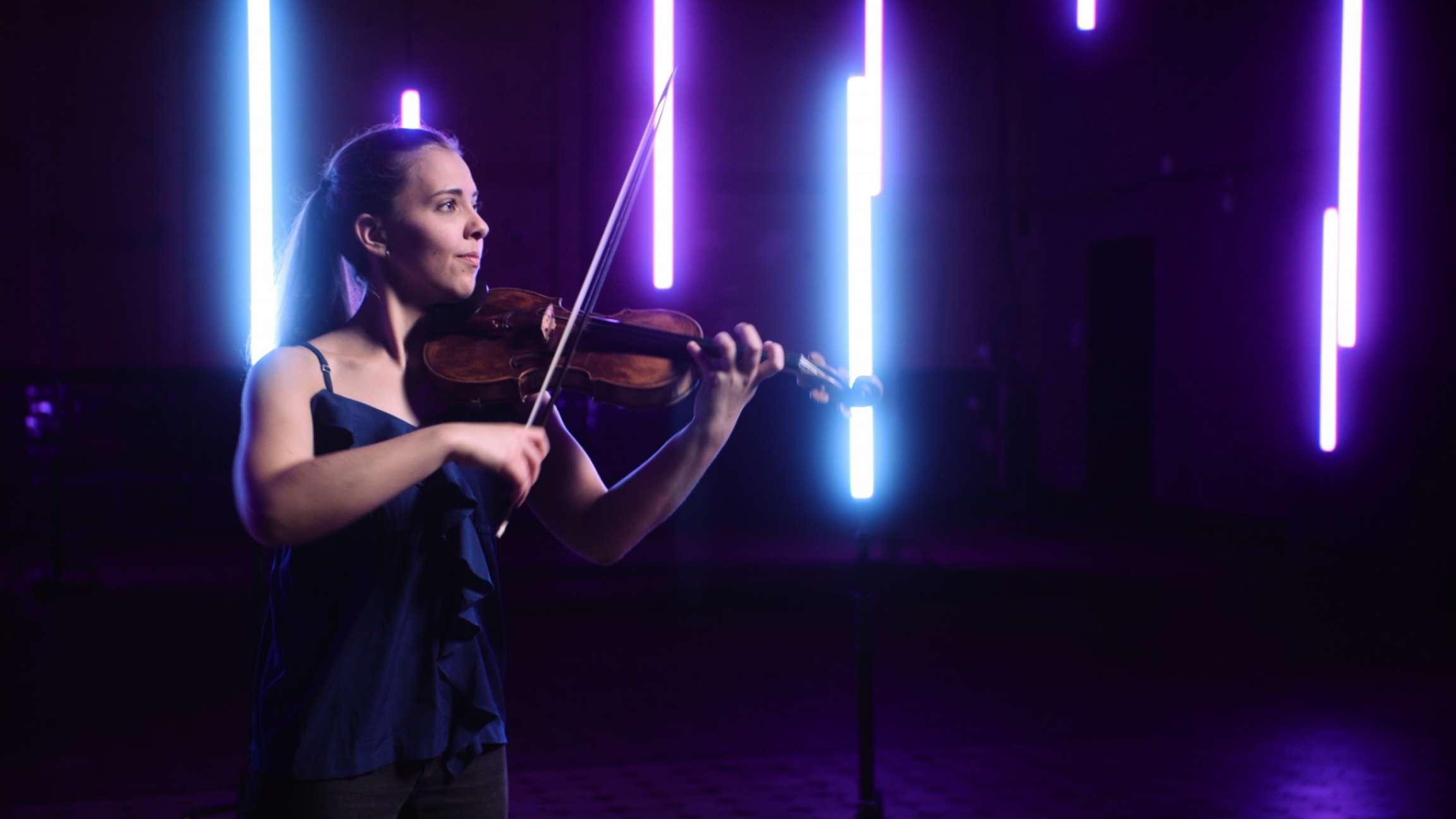 Allemande from Violin partita no. 1 in B minor