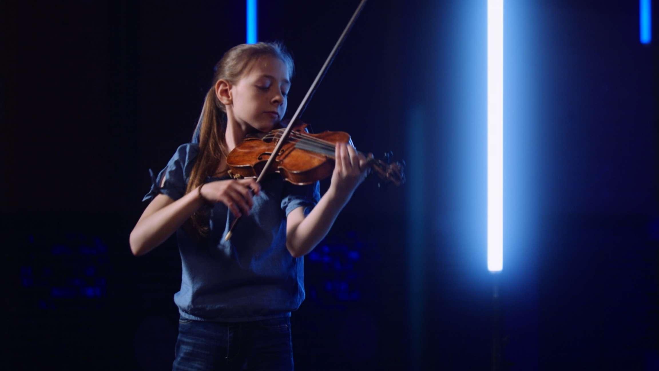 Allemande from Violin partita no. 2 in D minor