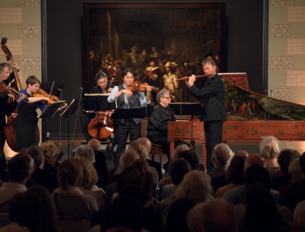 'Brandenburgs' concert nr. 5 in D groot