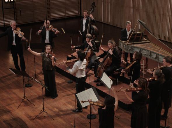 Concert voor twee violen in d klein