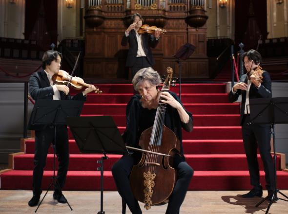 Canon a 4 Quaerendo invenietis from Musikalisches Opfer